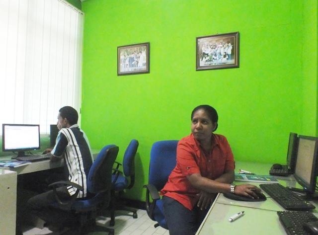 Pelatihan GIS untuk Dinas Kehutanan