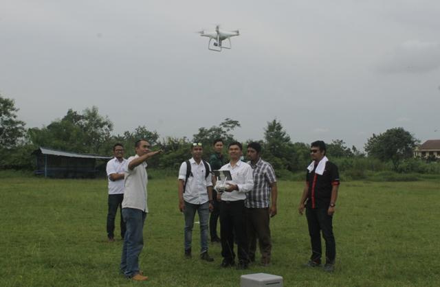 Praktik pelatihan pilot drone profesional