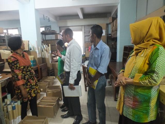Kunjungan Ke Badan Arsip Daerah