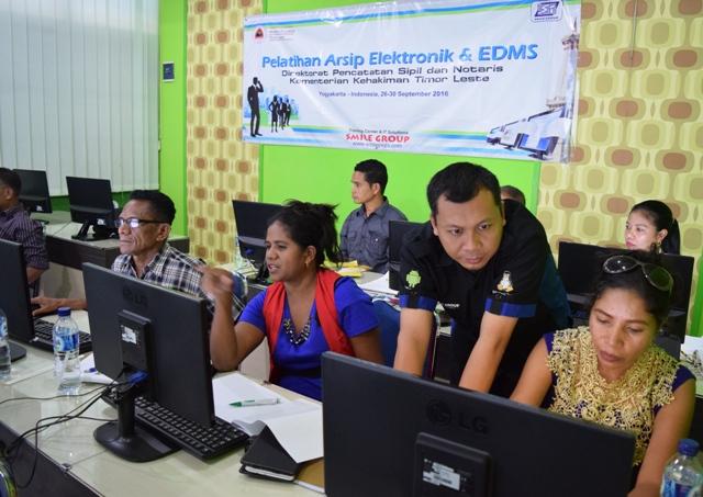 Pelatihan EDMS Yogyakarta