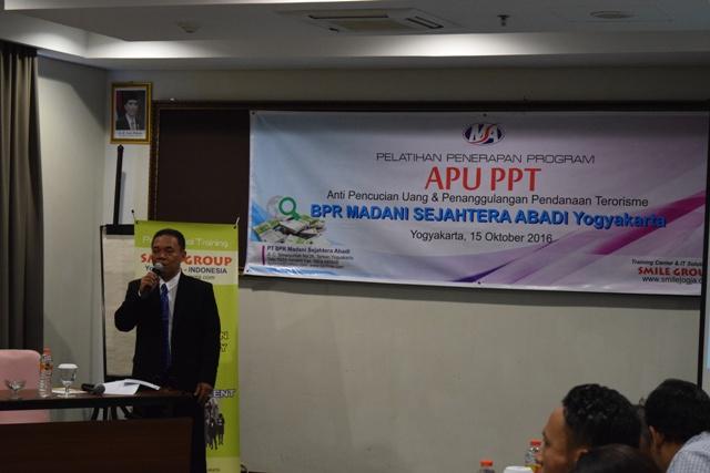 pelatihan tentang APU & PPT