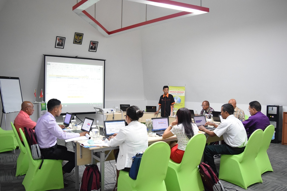 pelatihan financial accounting treasury - kementerian kehakiman timor leste