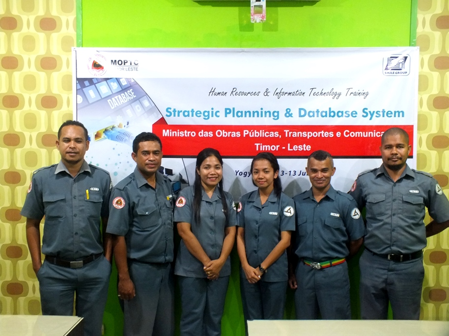 moptc timor leste - strategic planning dan database system
