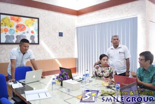 Pelatihan webgis Bappeda Kabupaten Maluku Tenggara
