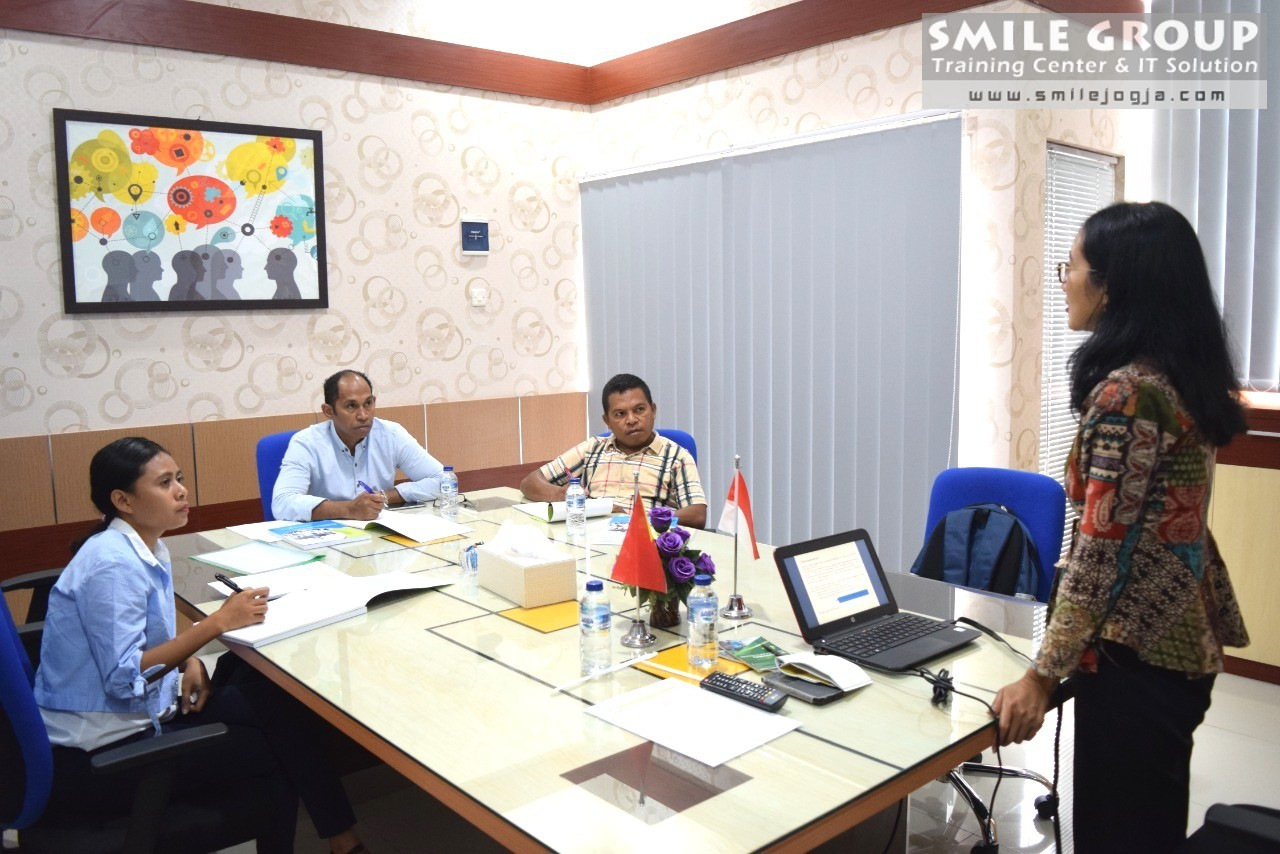 mpie timor leste gelombang dua pelatihan cash flow and treasury management