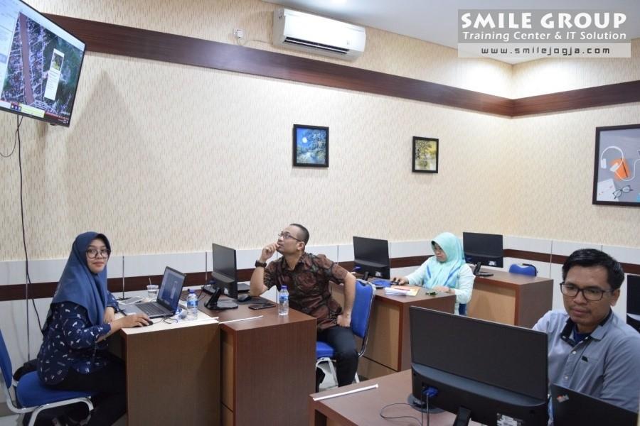 BKPSDM Kabupaten Banjar belajar Webgis