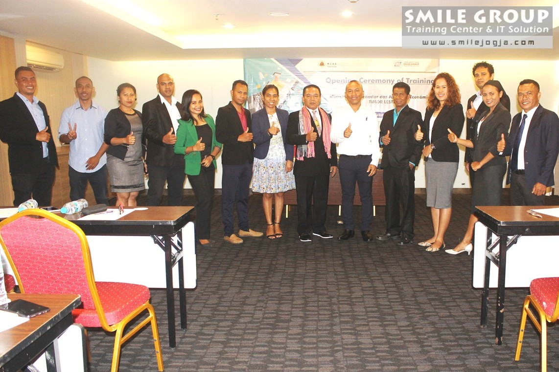 MCAE Timor Leste pelatihan budgeting dan Office Automation